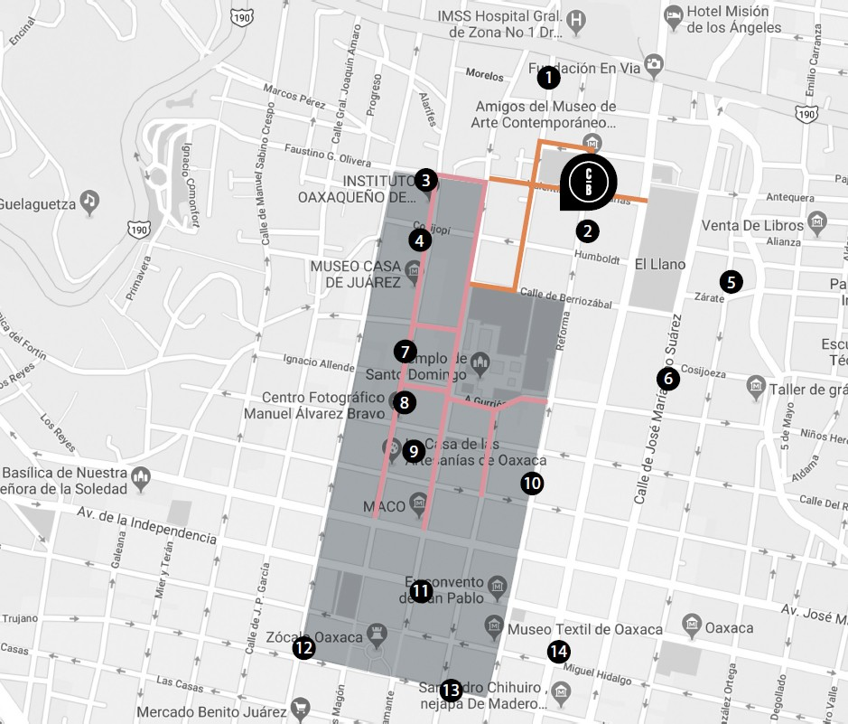Avenida Reforma - Colonia Centro, Oaxaca de Juárez